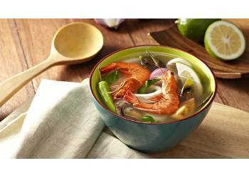 SEAFOOD AND LIME SINIGANG