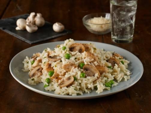 """Garlic & Parmesan Chicken """"Risotto"""""""