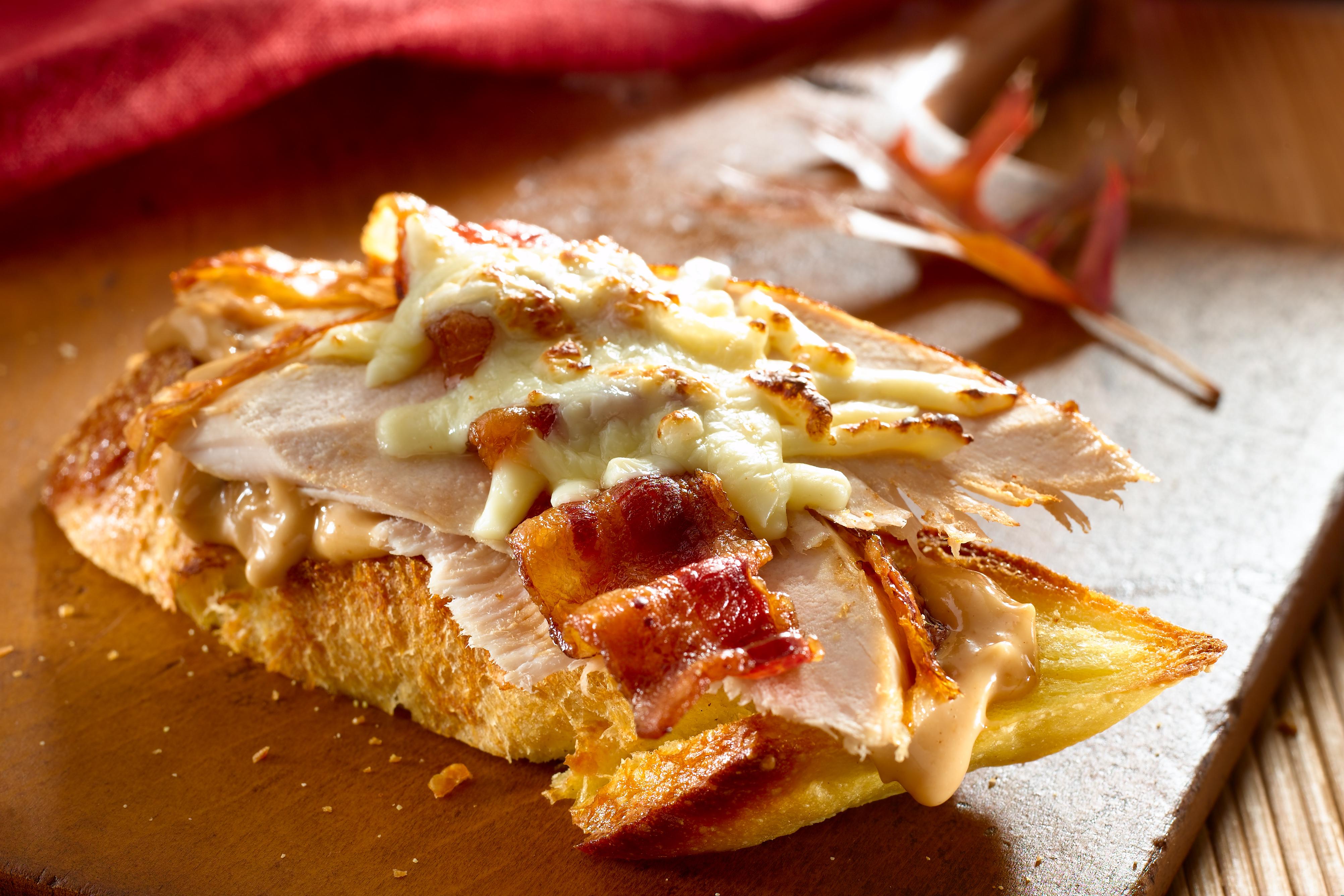 BBQ Puten Sandwich