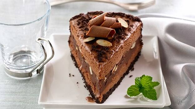 Mocha Almond Fudge Ice Cream Torte Recipe