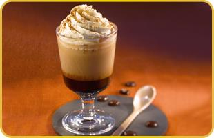 Irish coffee glacé