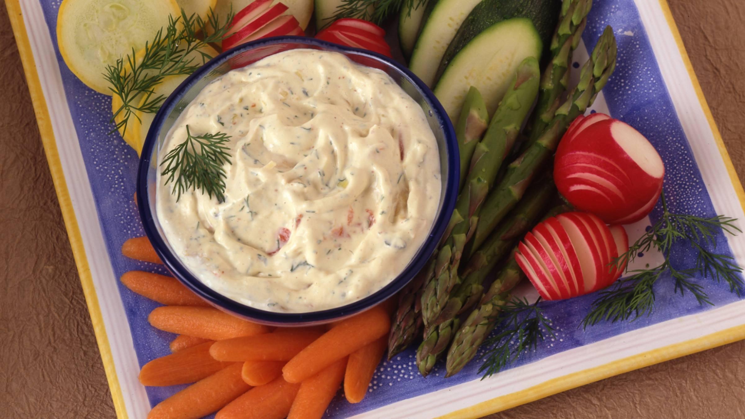 Dijonnaise Vegetable Dip