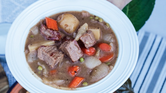Hearty Slow Cooker Beef Stew