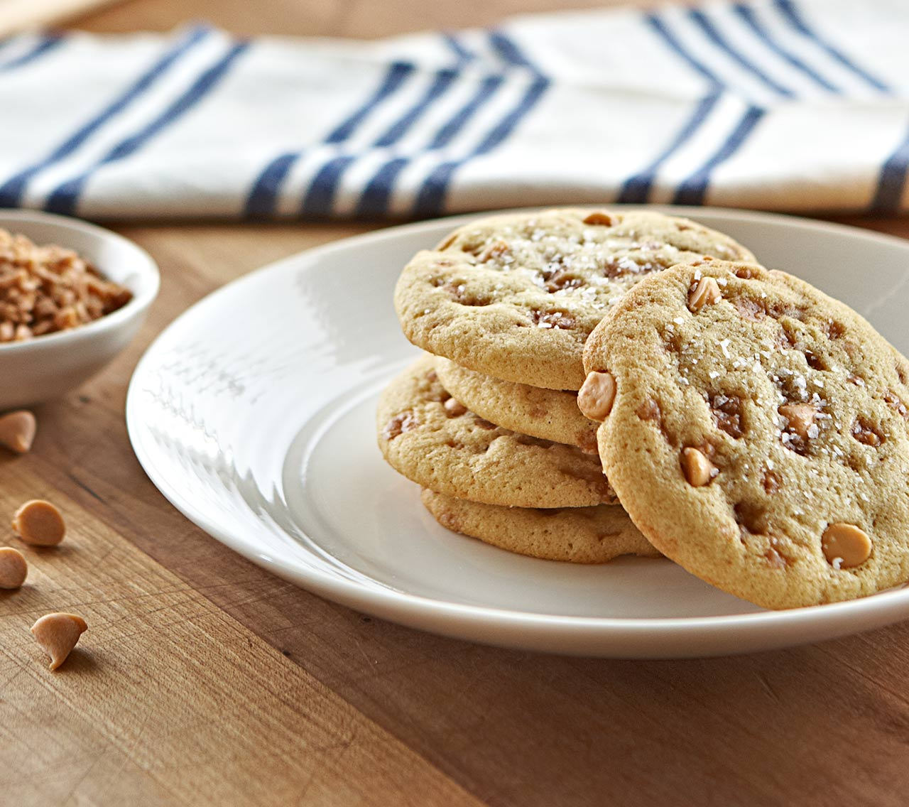 Salted Caramel Cookies-Becel Anything Goes Cookie Dough