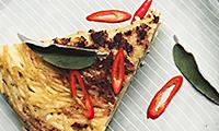 Katie Pix's Sage & Bertolli with Butter Pasta Frittata