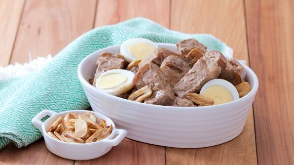 Creamy Pork Adobo Recipe