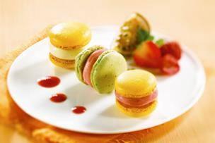 Macarons glacés
