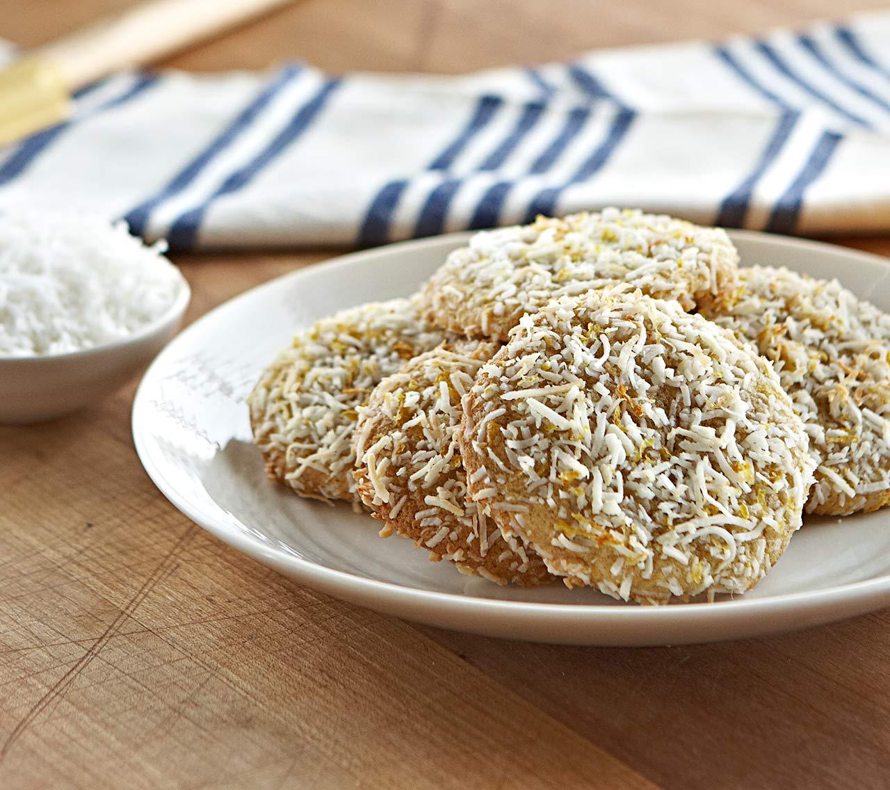 Coconut-Lemon Cookies