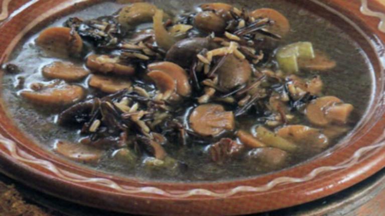 Σούπα αλά φούνγκι πορτσίνι