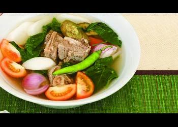 how to cook sinigang na hipon sa sampalok