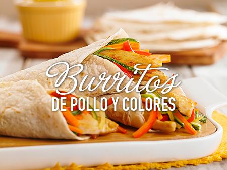 Burritos de Pollo y Colores al estilo Savora