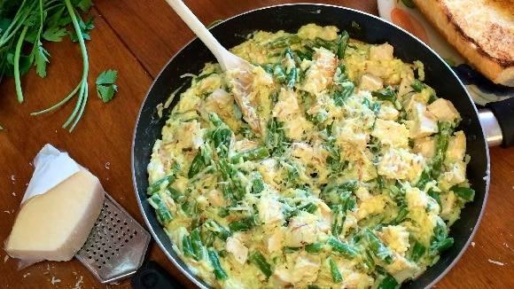 Chicken Caesar 'N Rice Skillet Dinner