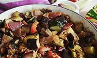 The Chiappa Sisters' Spiced Vegetable Ratatouille