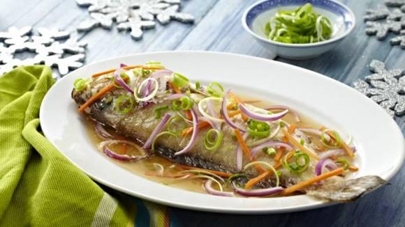 Steamed Lapu-Lapu Recipe in Soy-Sesame Sauce
