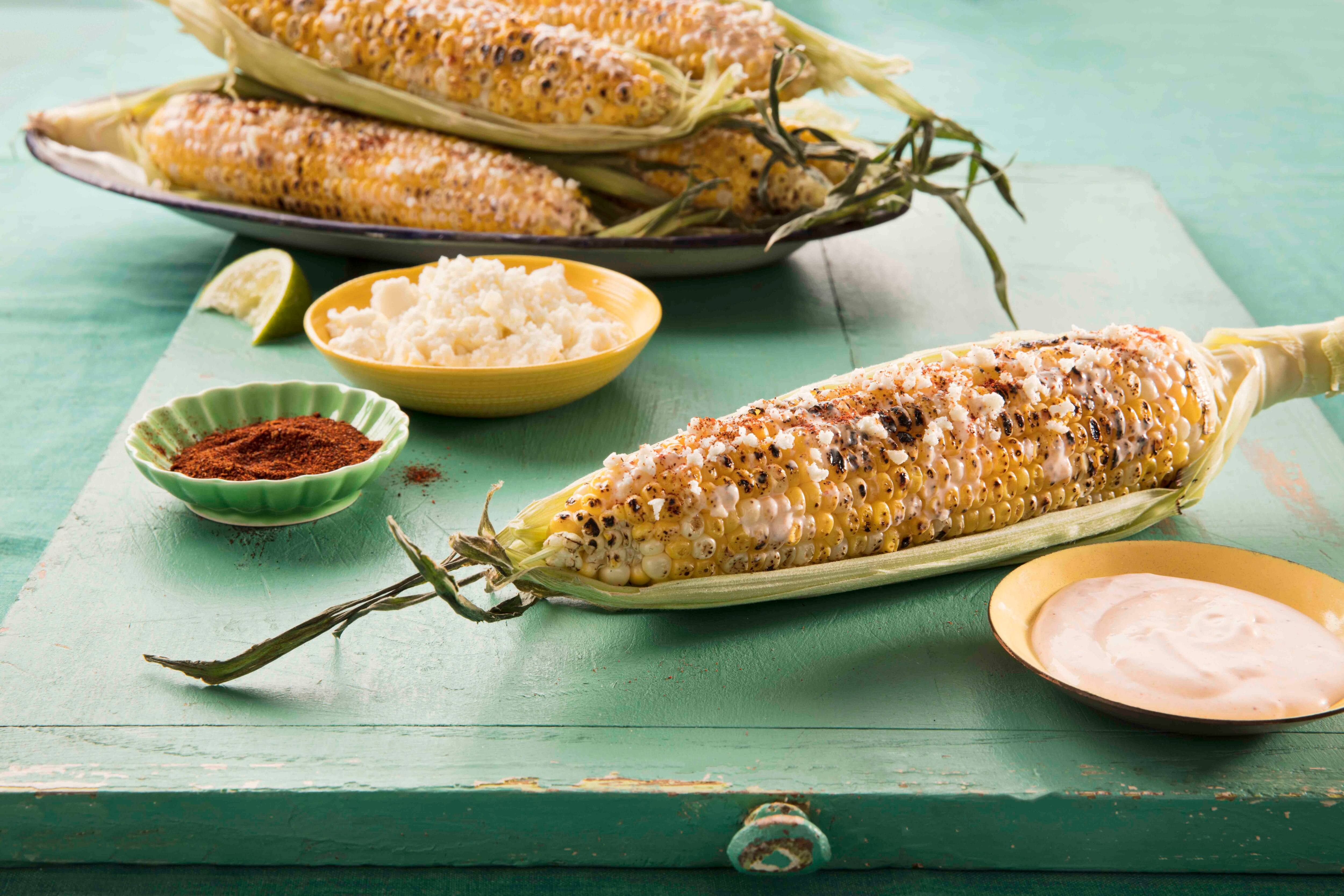 Mexican-Style Corn Recipe (Elote)