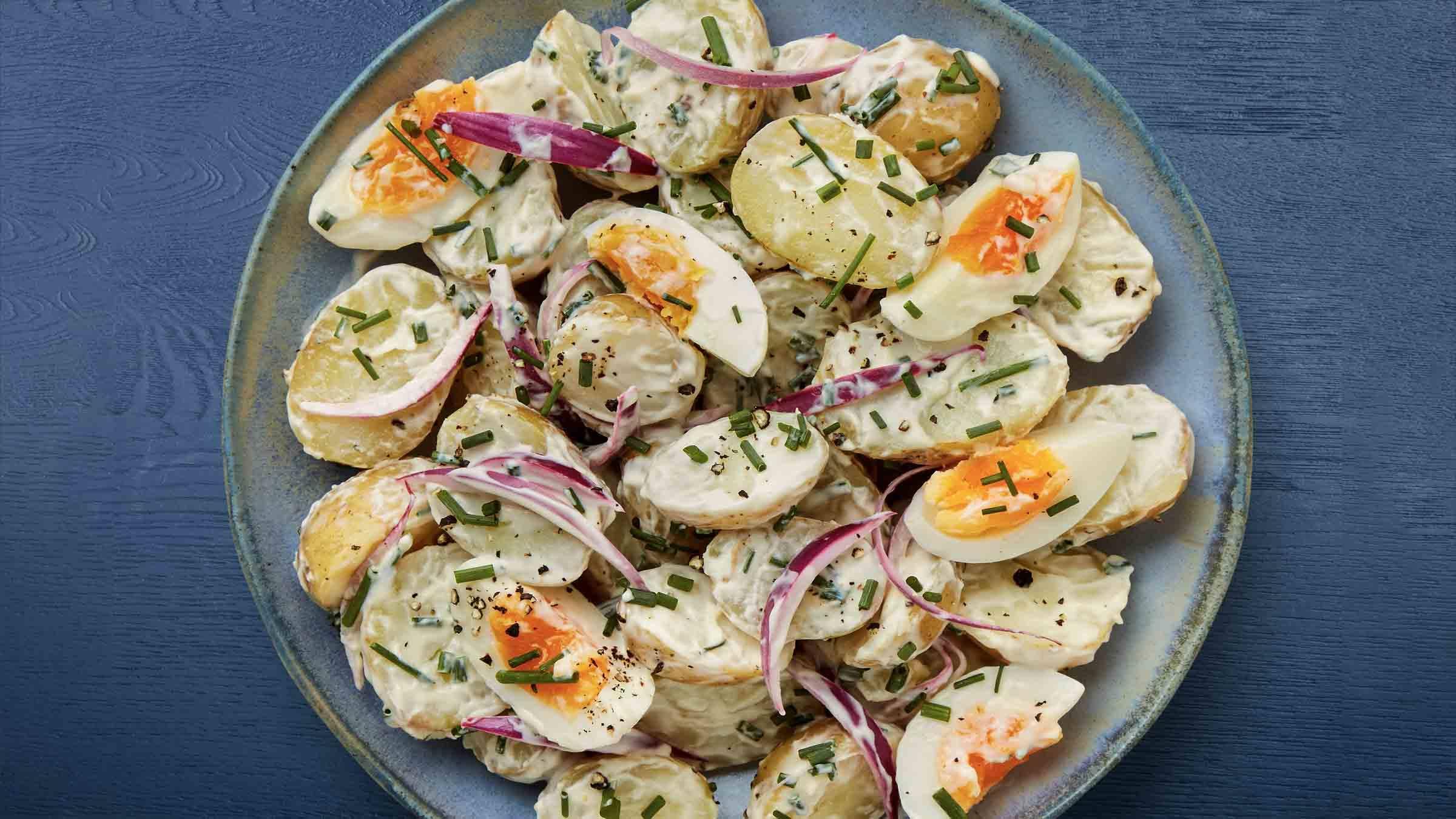 Potato &  Egg Salad Recipe