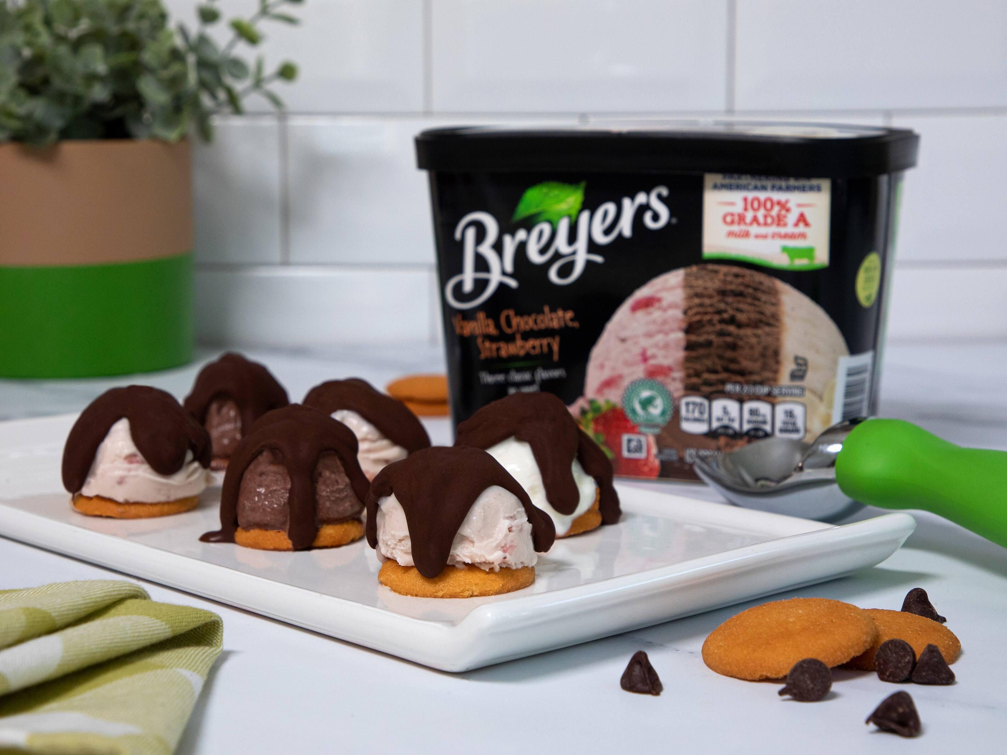 Homemade Ice Cream Bonbons