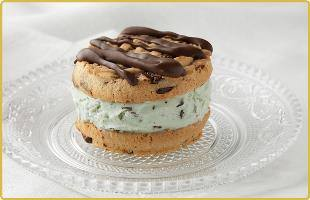 Sandwich menthe cookie