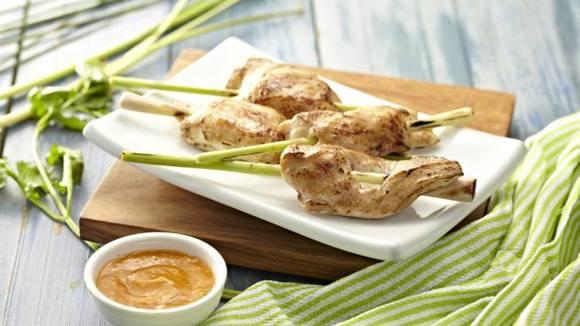 Chicken Lemongrass Skewers Recipe