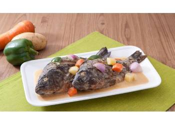 Fried Tilapia with Vegetable Curry Recipe