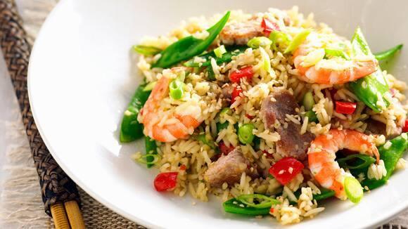 Pork & Prawn Fried Rice