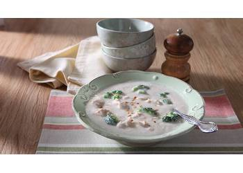 Coconut Broccoli Chicken Soup Recipe