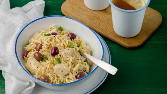 Greek-Style Chicken & Rice