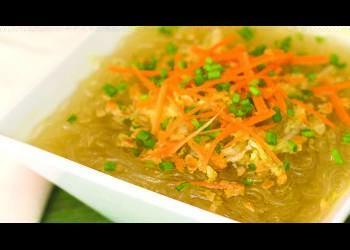 Tasty Meatless Sotanghon Soup Recipe