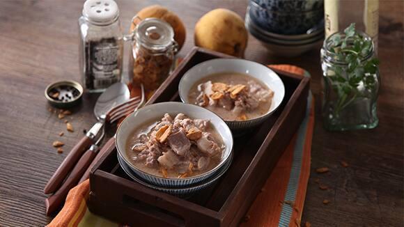 Pork Binagoongan with Grated Santol sa Gata Recipe