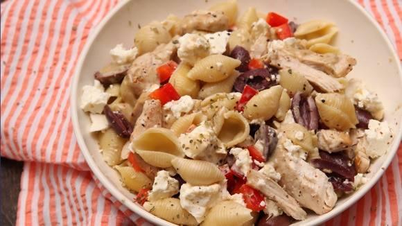 Cheesy Mediterranean Chicken