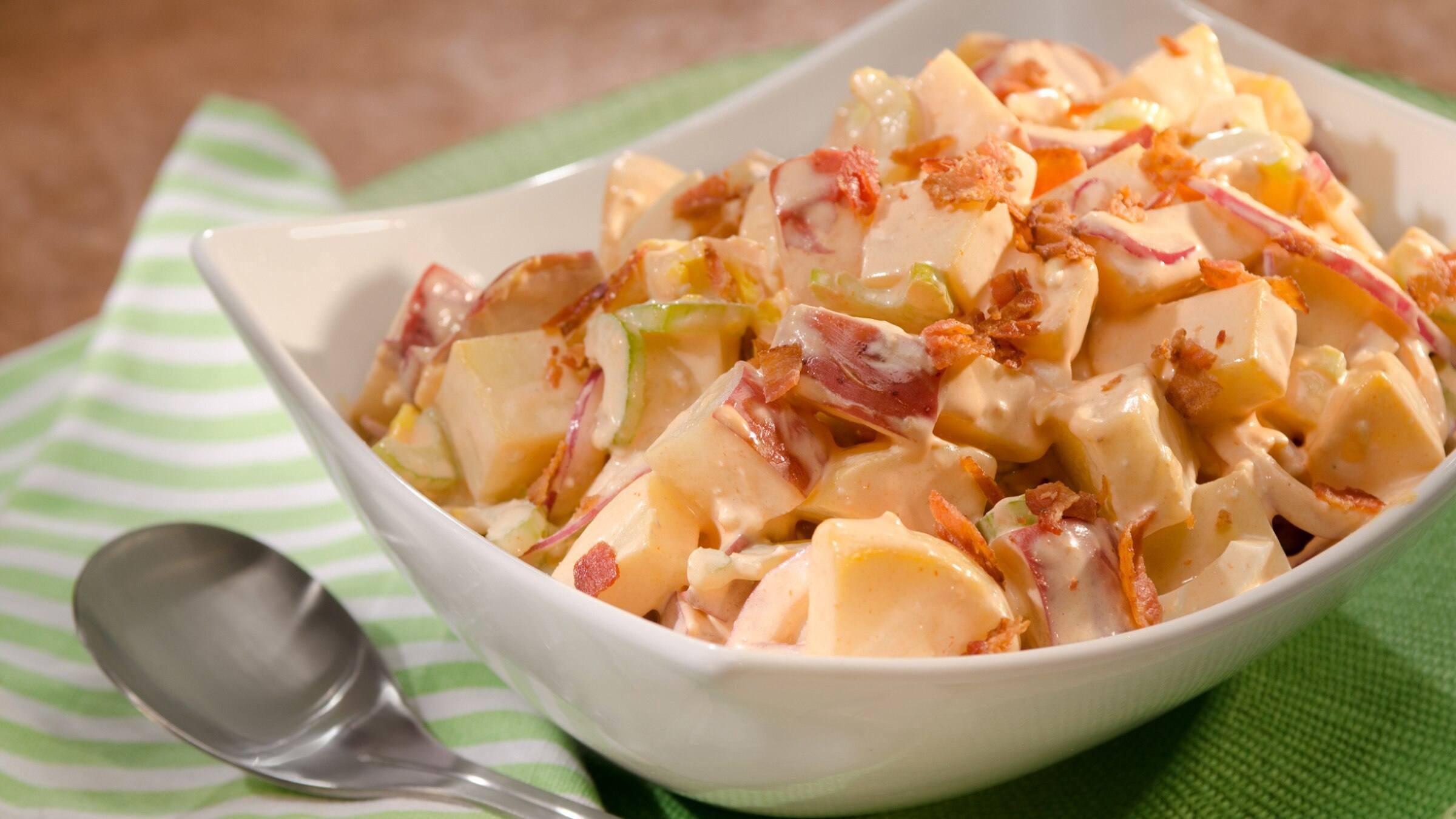 Buffalo Two-Potato Salad Recipe