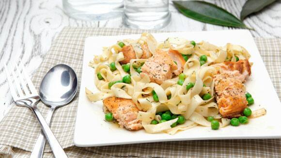 Salmon Herb Pasta