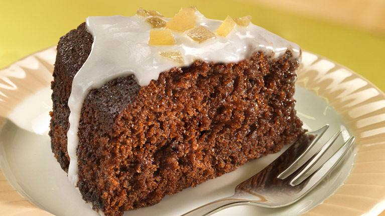 Easy & Tasty Sticky Ginger Cake Recipe