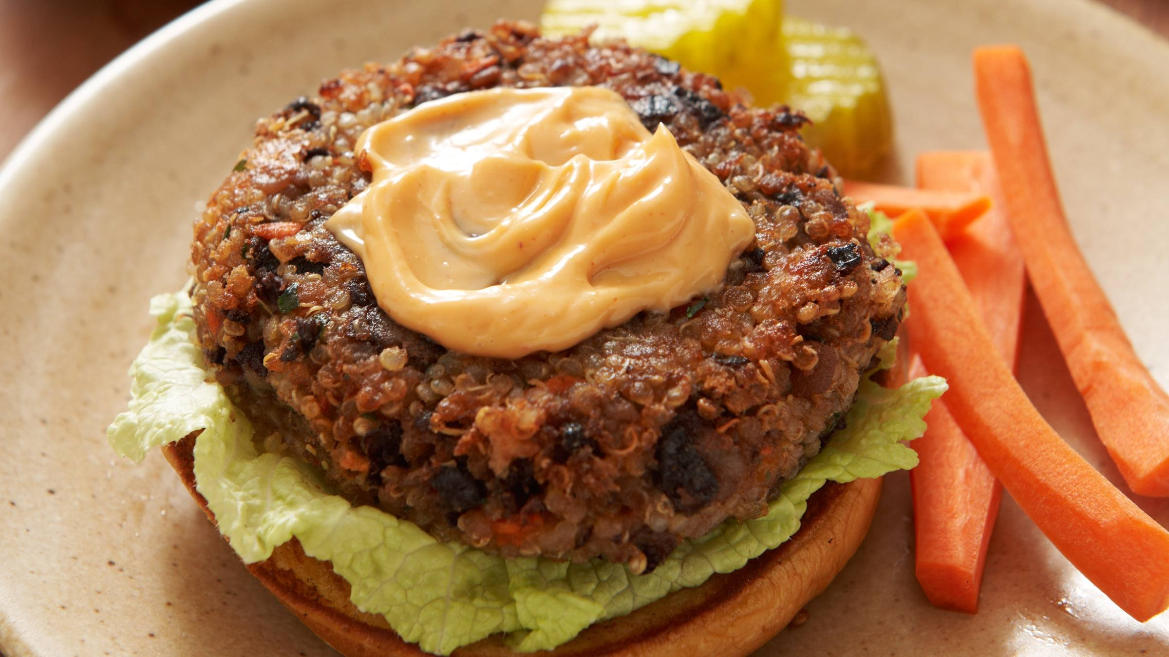 Black Bean Quinoa Burgers Recipe