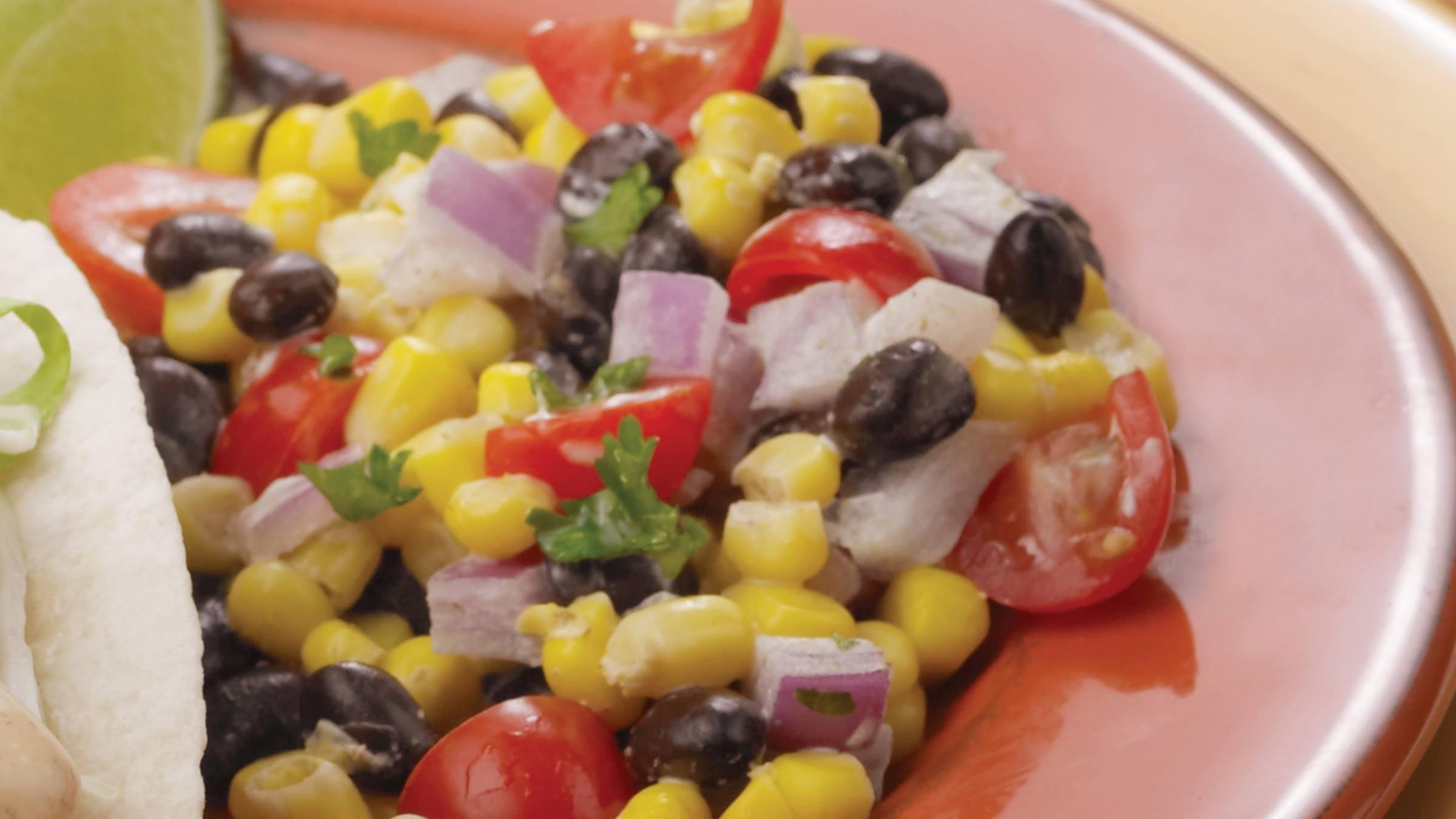 Fiesta Black Bean Salsa
