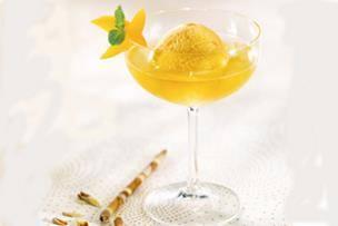 Champagne à la mangue