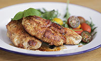 Chicken Saltimbocca Tricolore