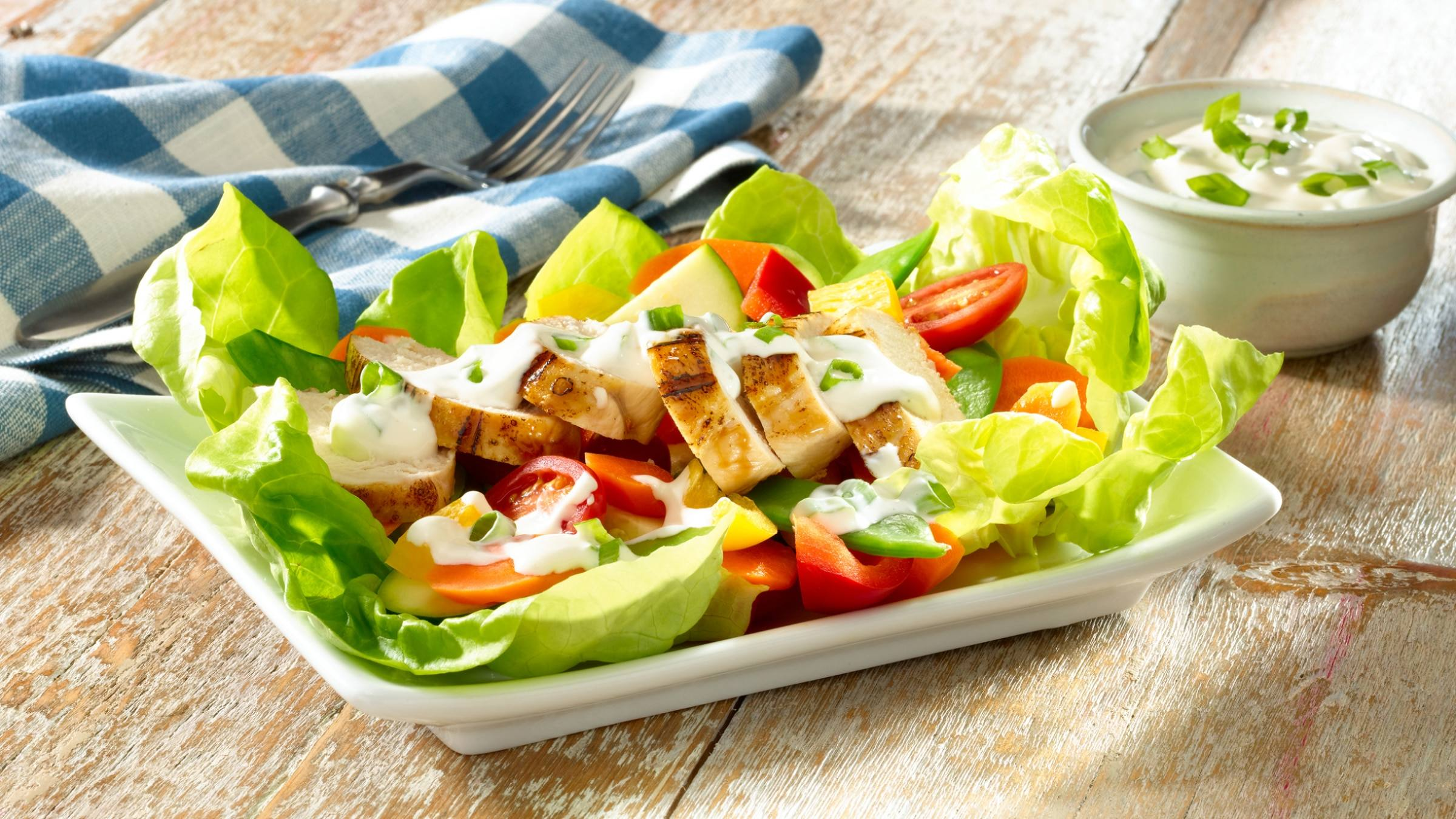 Garden Chicken Salad