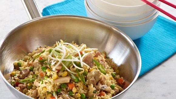 Oriental Chicken Fried Rice