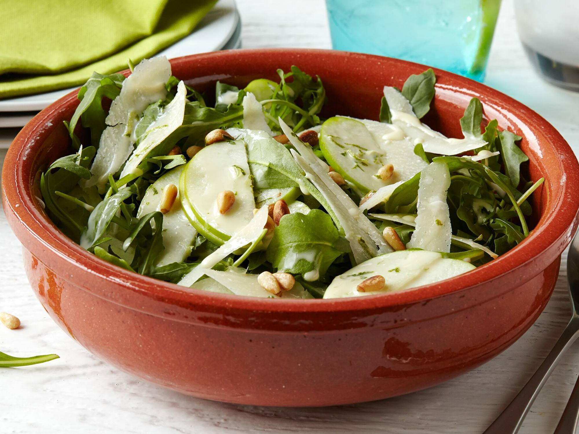 Arugula & Green Apple Salad
