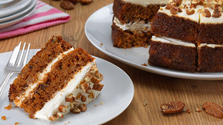 Classic Dairy Free Carrot Cake