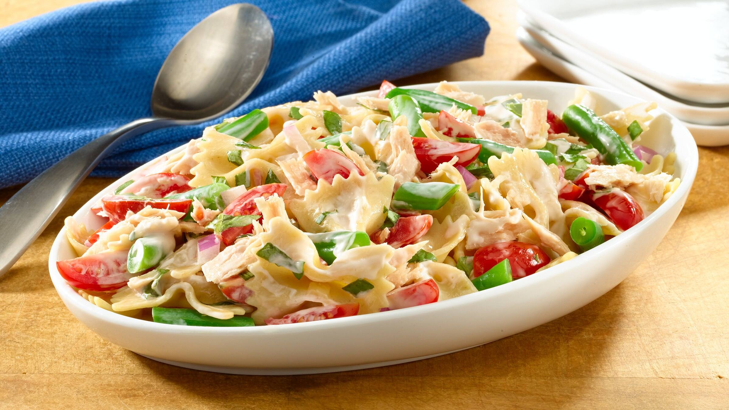 Tuna & Bow Tie Pasta Salad Recipe