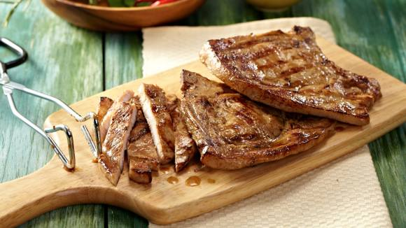Pan-Grilled Porkchops Recipe