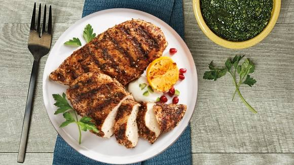 Lebanese Grilled Chicken
