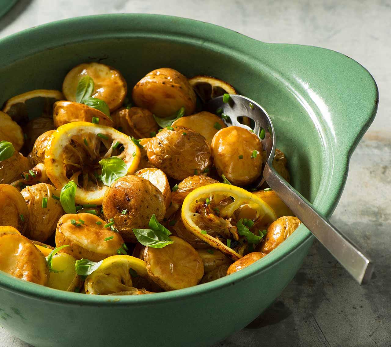 Garlic Parsley Mashed Potatoes