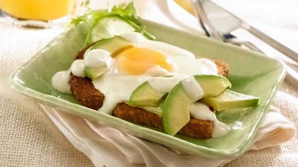 Avocado Breakfast Sandwiches