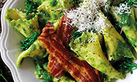 Bertollini Pasta With Broccoli and Crispy Pancetta