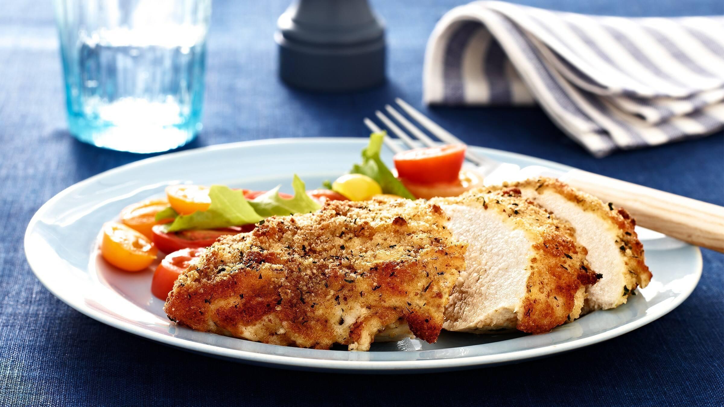 Parmesan Crusted Chicken Recipe Crusted Chicken Recipe