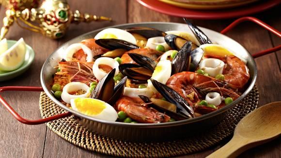 Paella Marinara Recipe