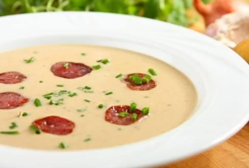 Knorr - Feurige Tomatenschaumsuppe mit Chorizo